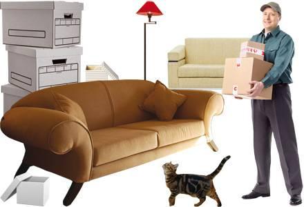 Перевезти мебель с грузчиками недорого